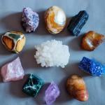 Набор из 12 минералов для медитаций и магического круга